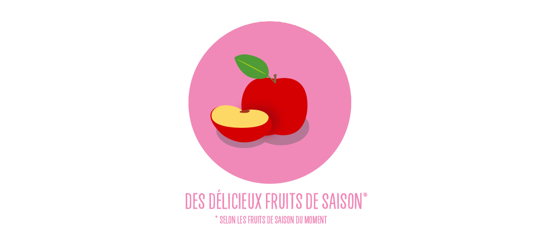 fruit de saison menu petit fluncheur