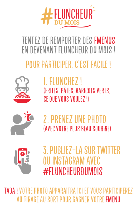 concours instagram et twitter fluncheur du mois