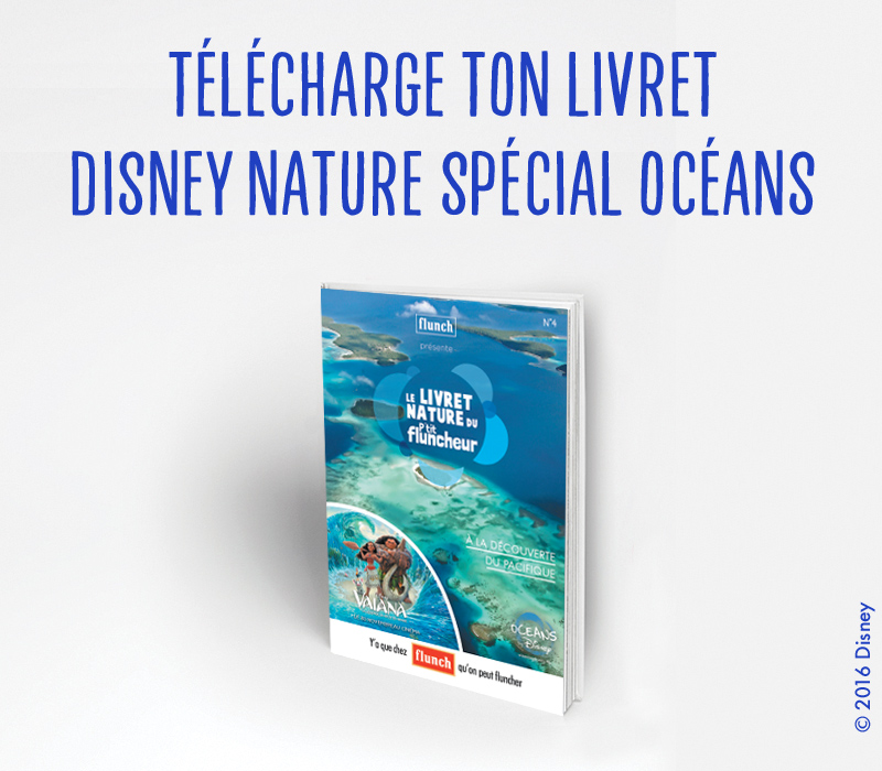 Livret Disney Nature Océans