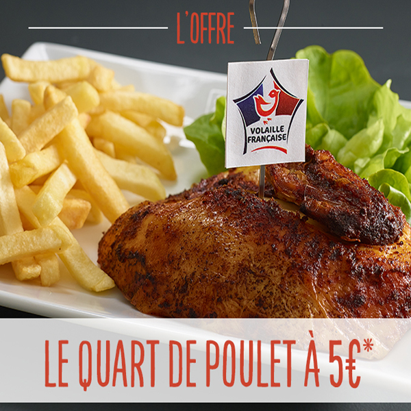 Offre Myflunch poulet