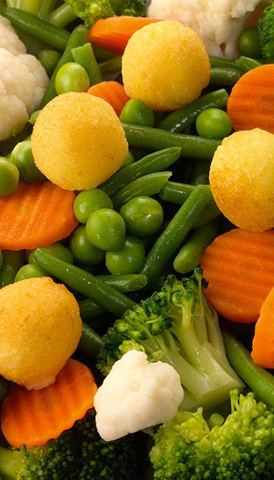 légumes à volonté