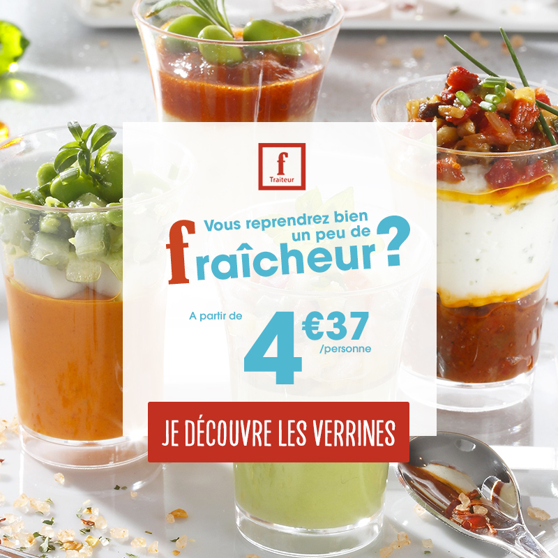 verrines flunch Traiteur