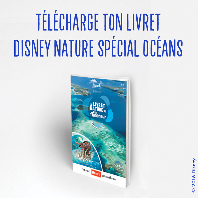 Livret Disney Nature spécial OCEANS