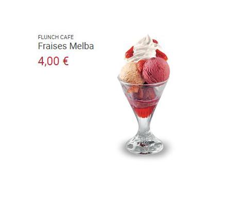 fraises melba