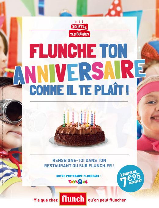 anniversaire flunch