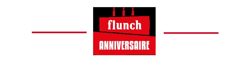 flunch anniversaire