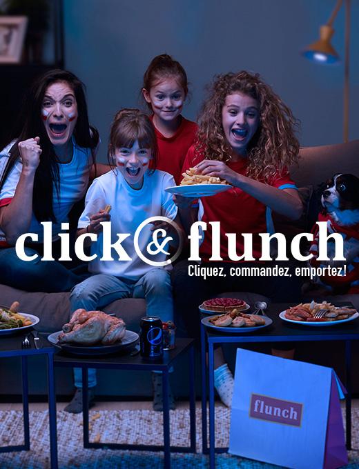 Click&flunch télé