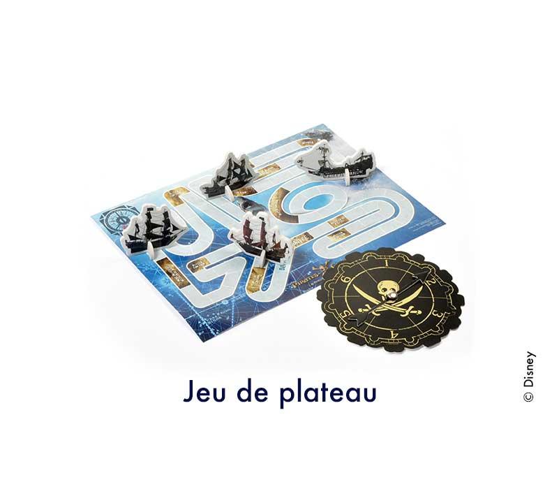 jeu de plateau pirates des caraibes