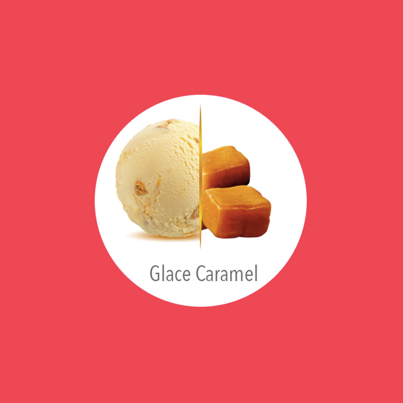 flunch glace caramel carte d'or