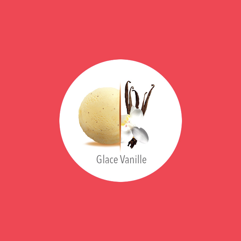 flunch glace vanille carte d'or