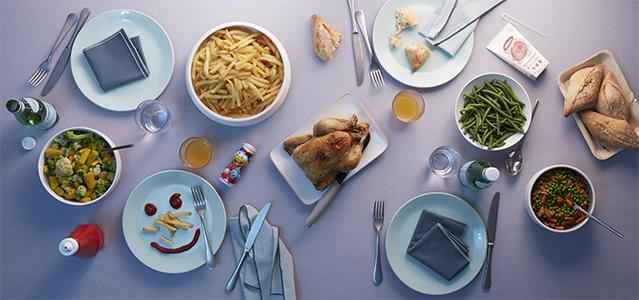 Un repas familial et convivial avec click flunch flunch blog for Repas simple et convivial