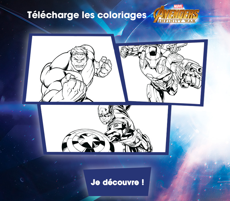 coloriage avengers flunch