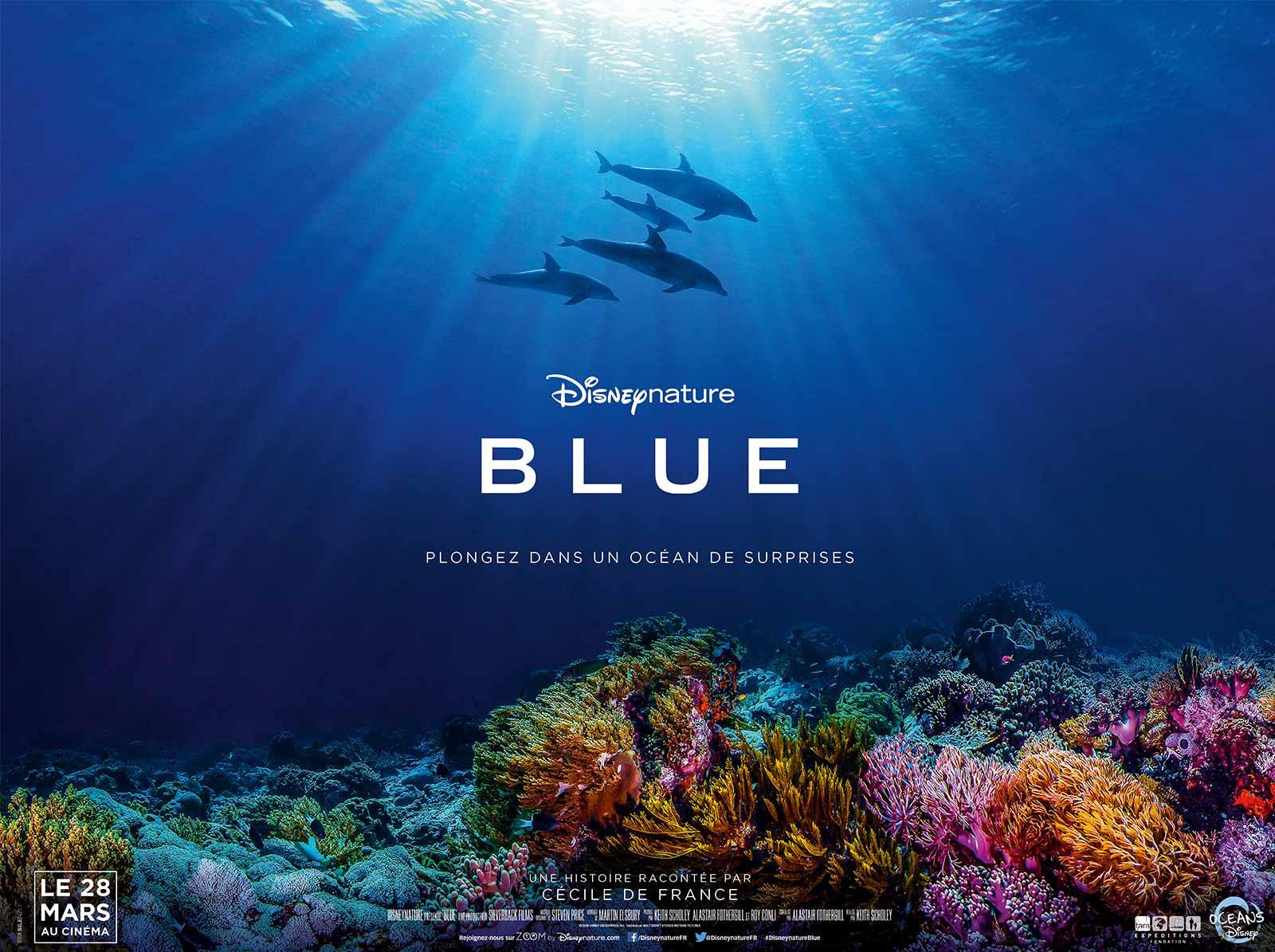 blue disney nature