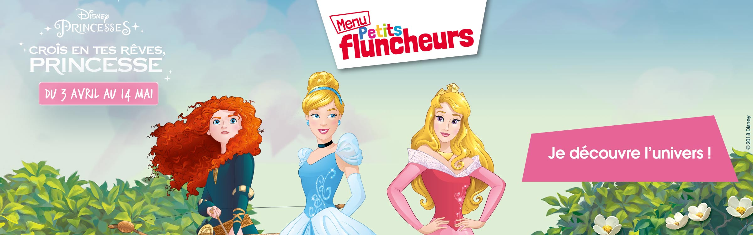 princesses menu petits fluncheurs