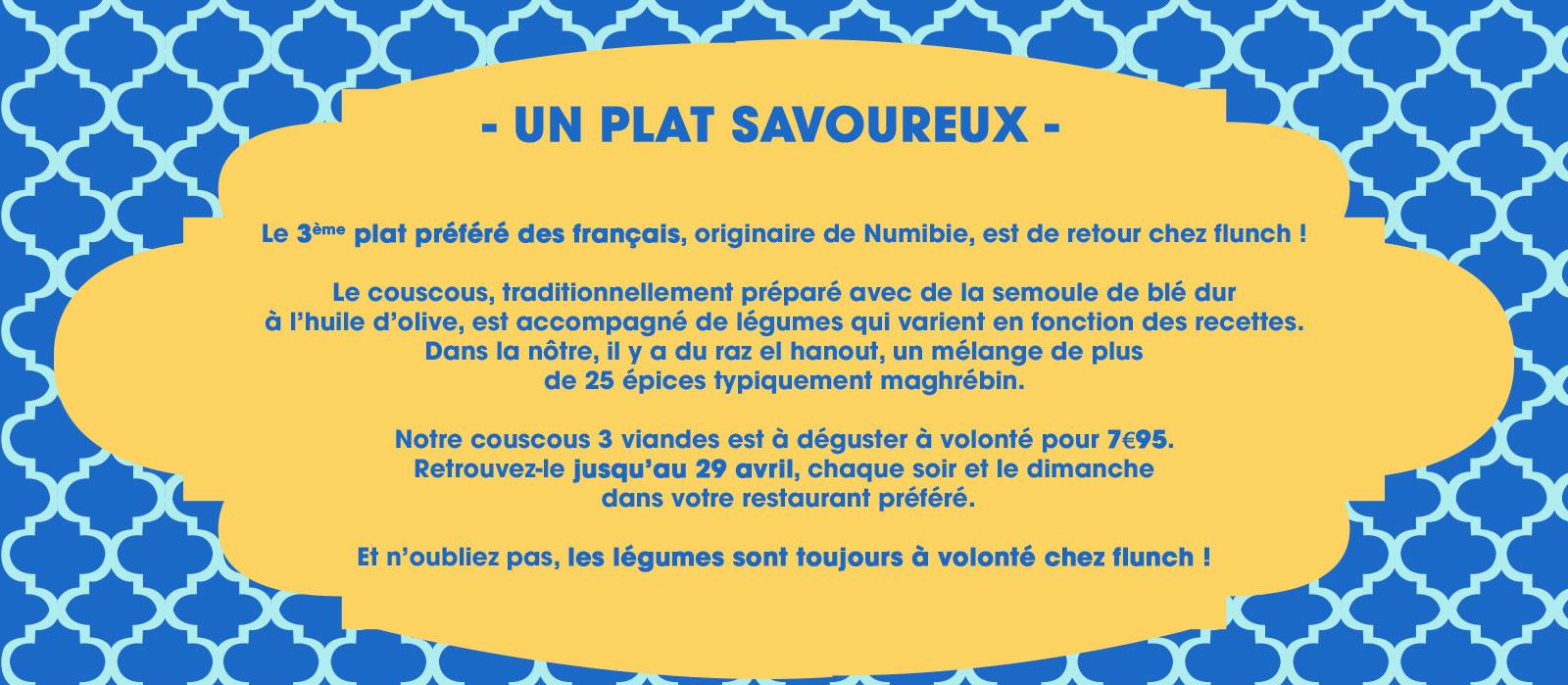 recette couscous flunch