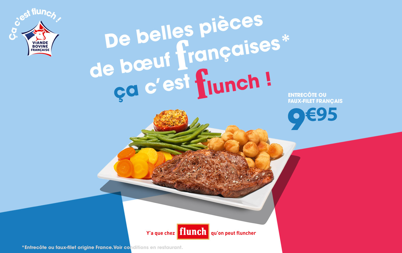 viande origine france flunch