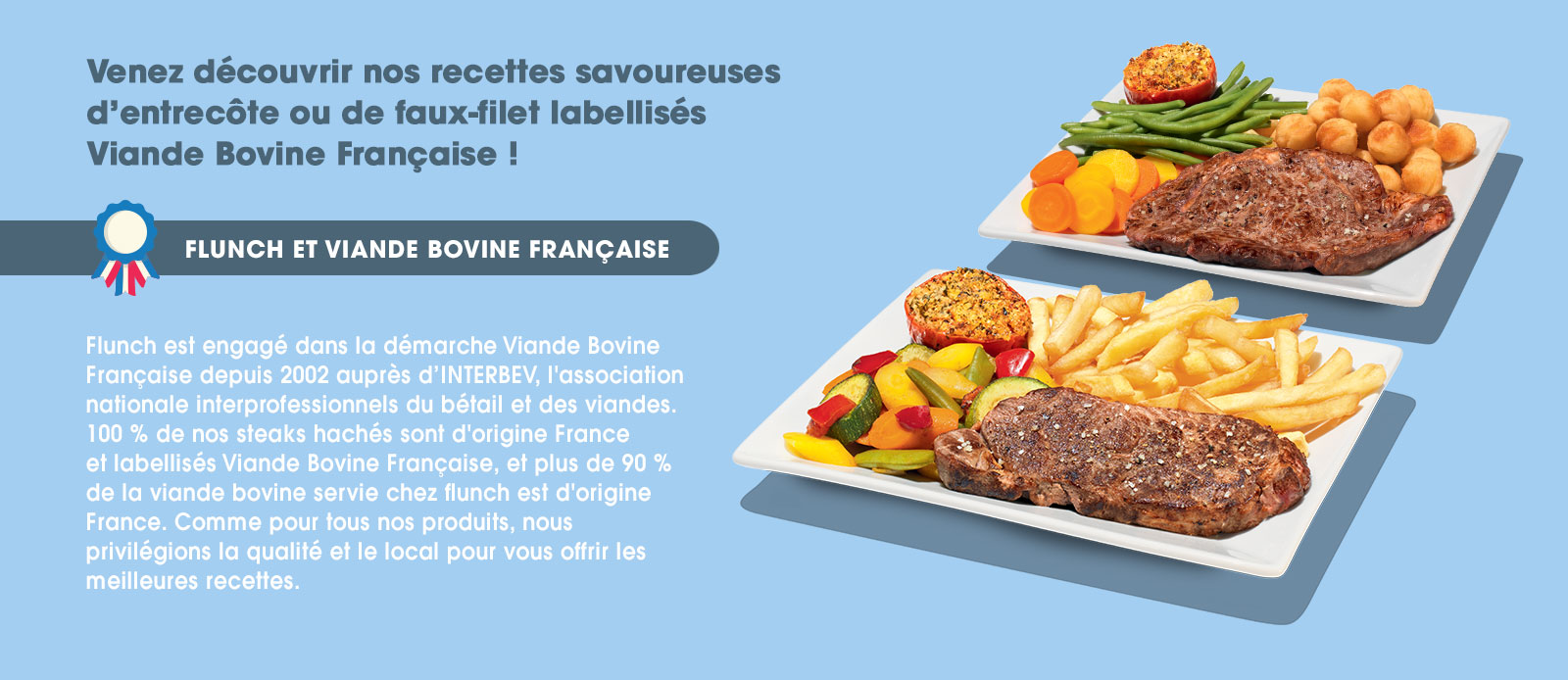 flunch viande française