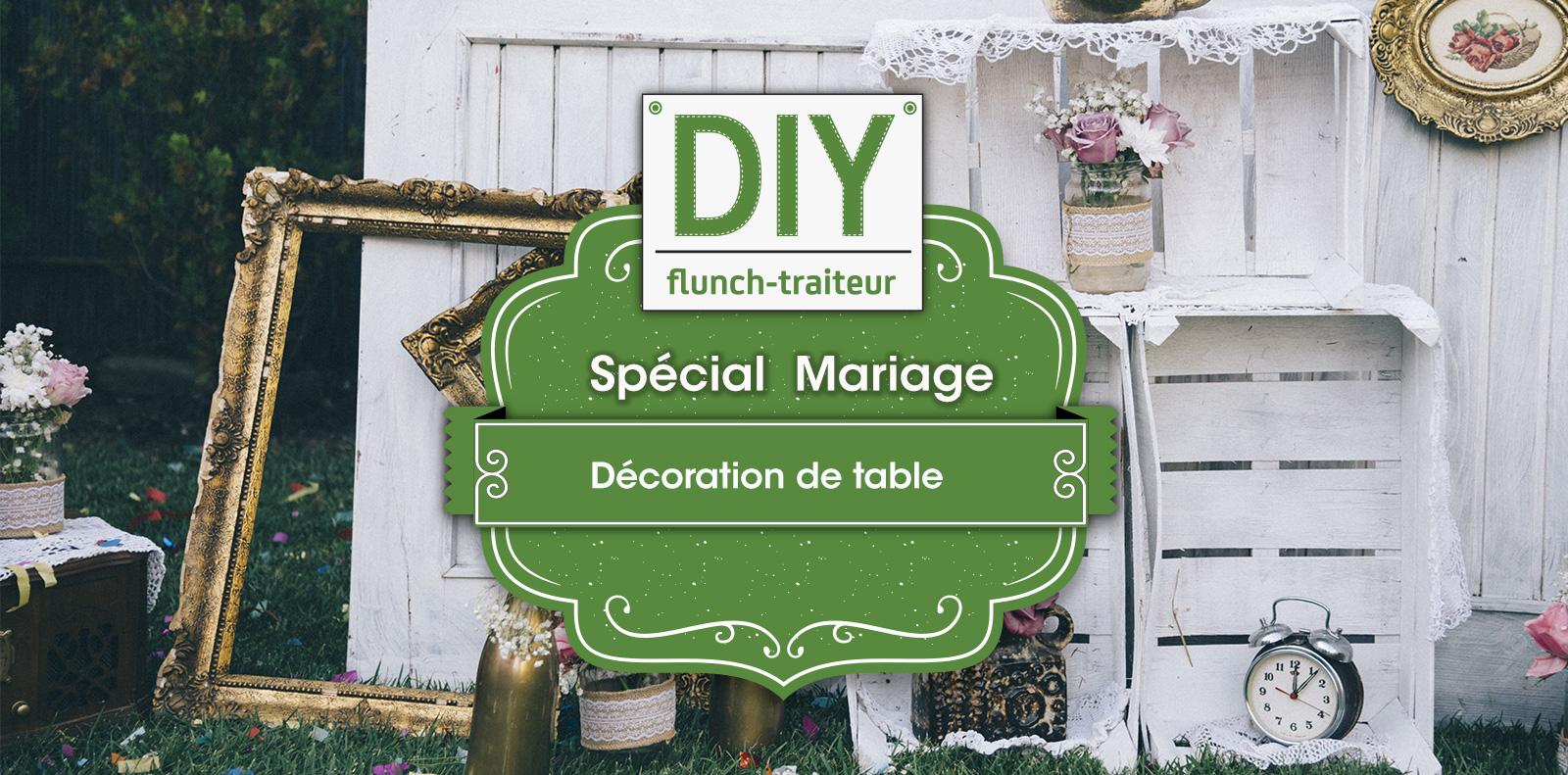 décoration de table diy