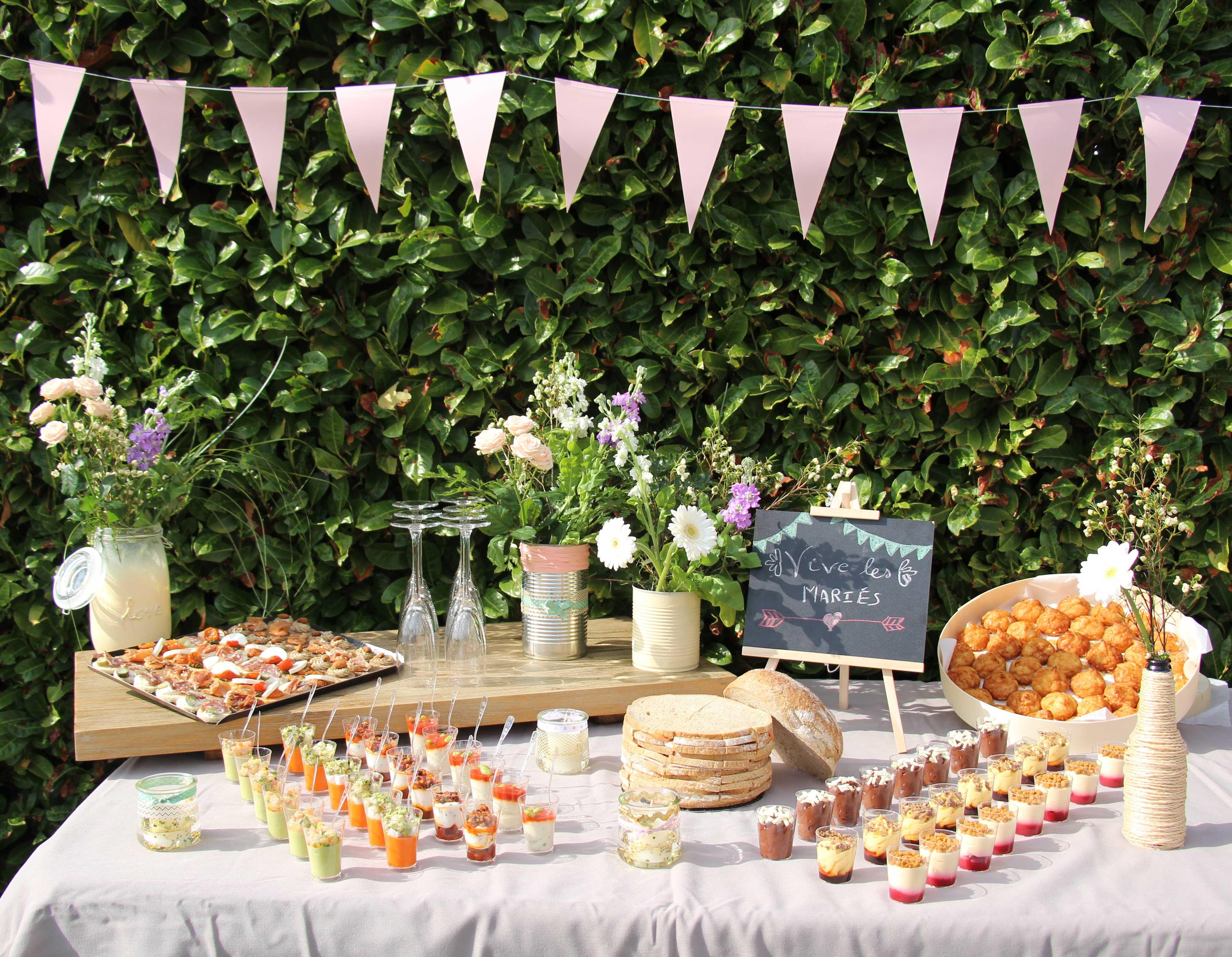 diy décoration de table mariage diy