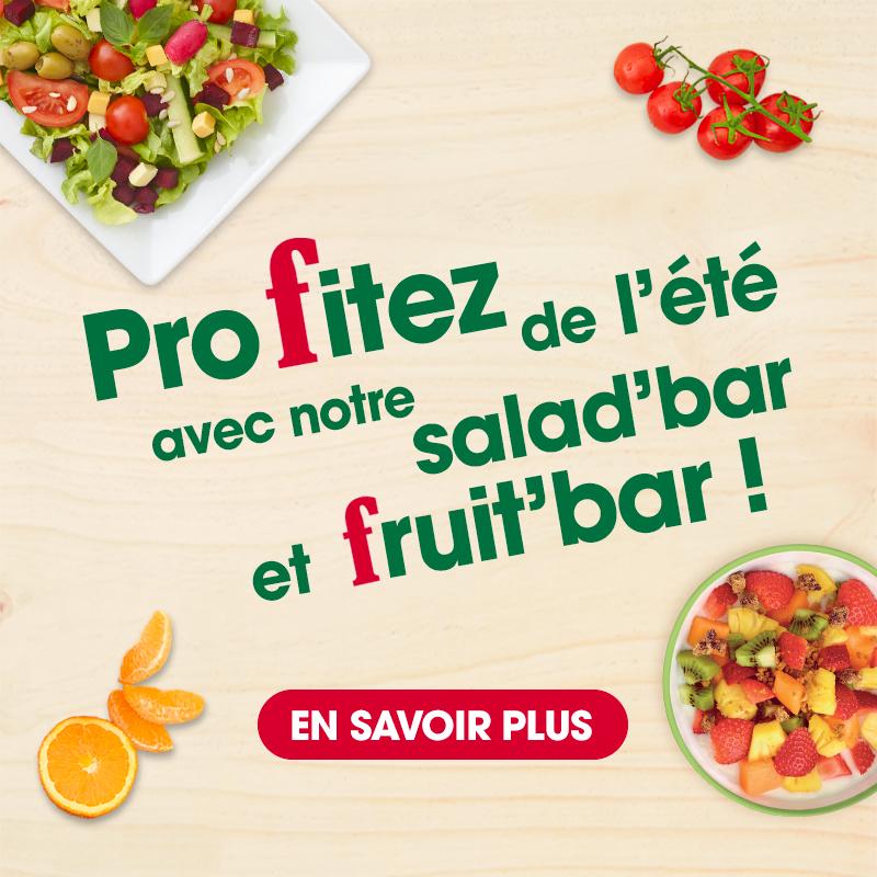 salad bar flunch