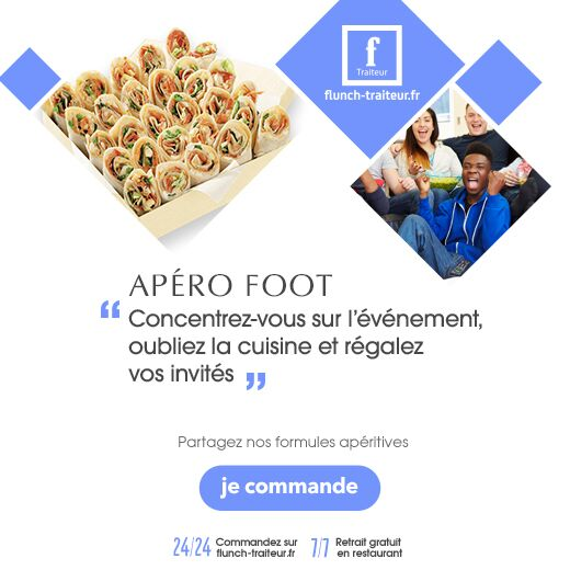 flunch traiteur foot
