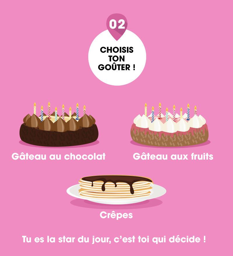 gâteau flunch anniversaire