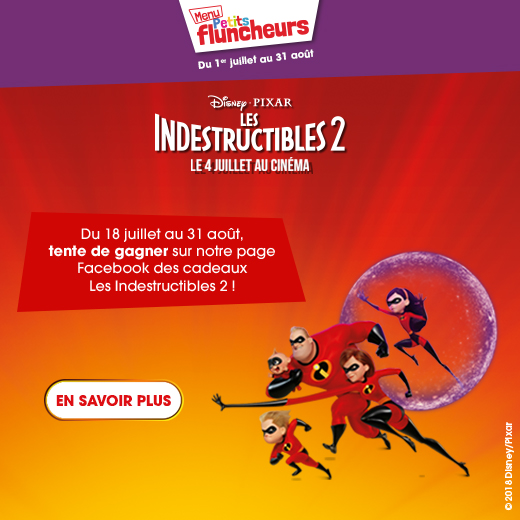 indestructibles menu petits fluncheurs