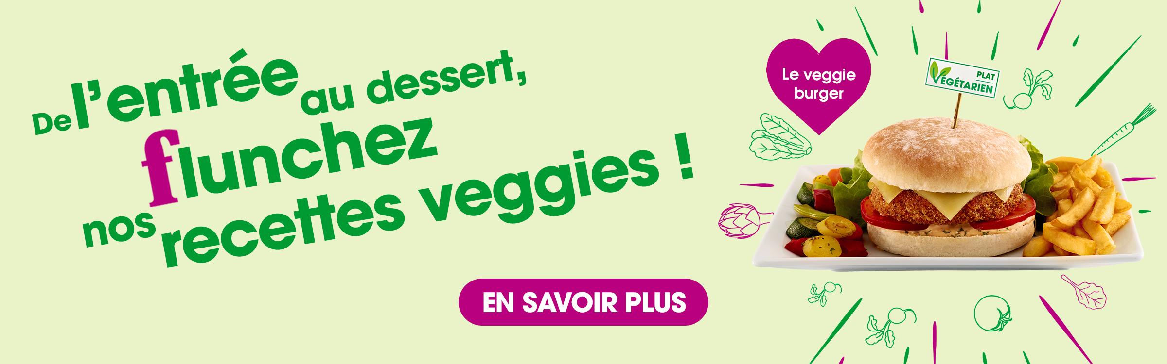 manger végétarien flunch