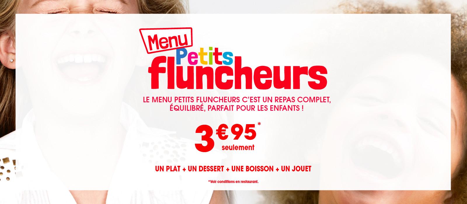 menu enfant flunch