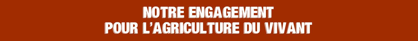 Engagement agriculture du vivant
