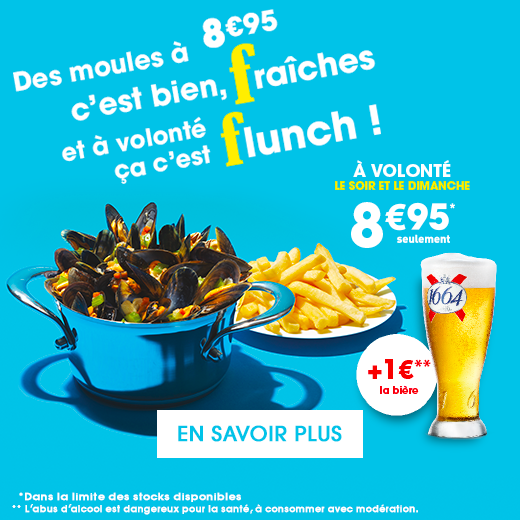 flunch moules