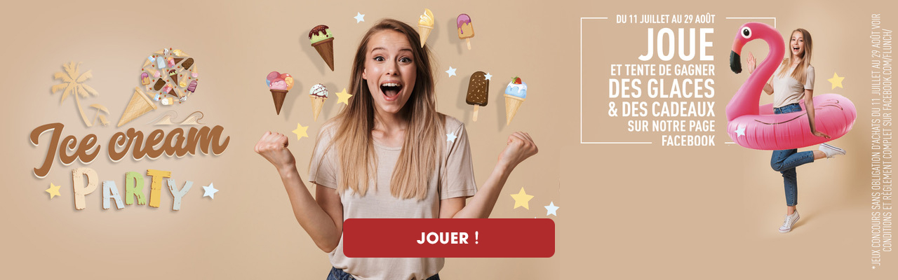 jeux concours ice cream party