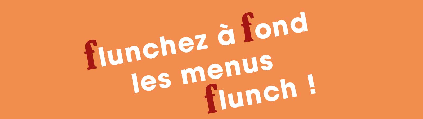 menu flunch