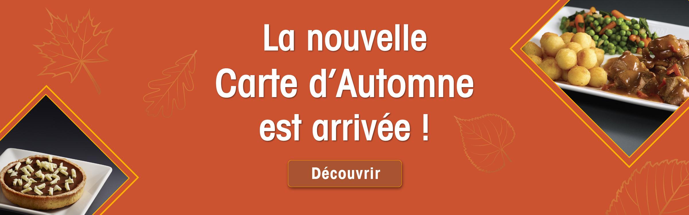 nouvelle collection automne