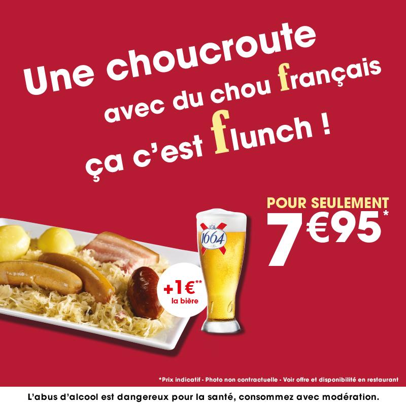 choucroute flunch