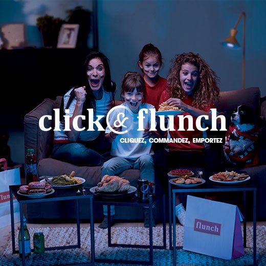 Repas à emporter avec Click&Flunch