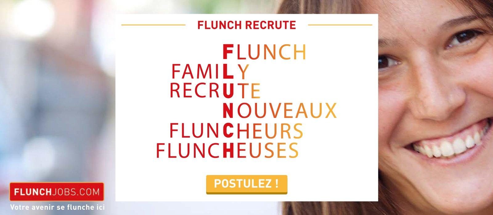 Trouver un job chez Flunch
