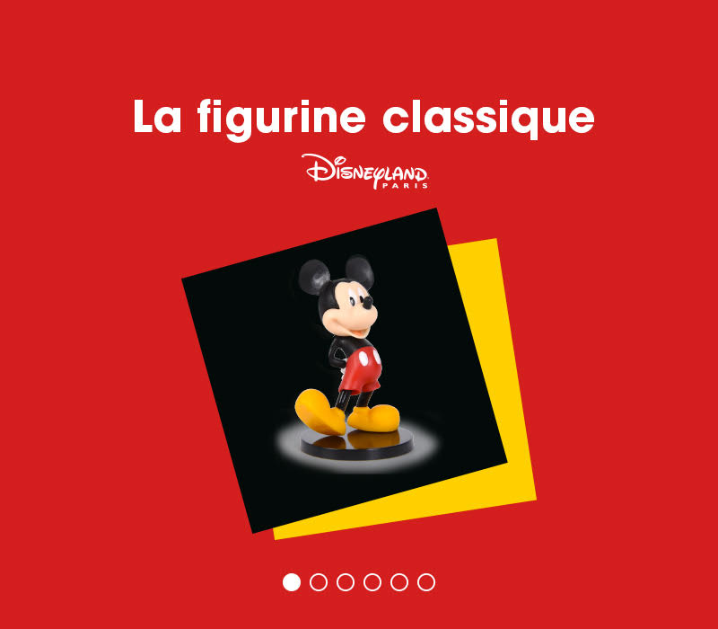 90 ans de mickey flunch figurine mickey