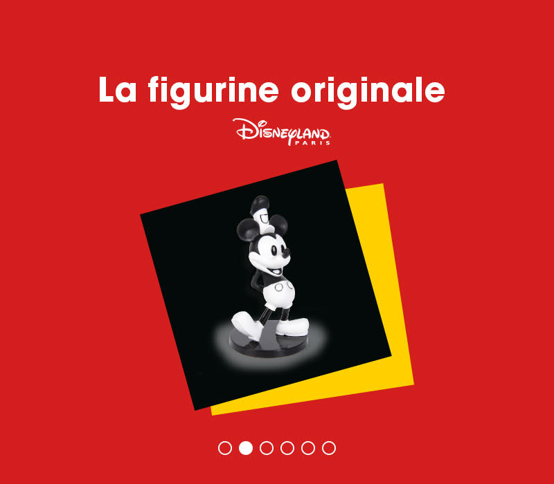 90 ans de mickey flunch figurine originale mickey