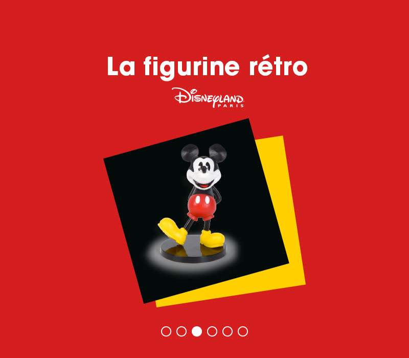 90 ans de mickey flunch figurine retro mickey