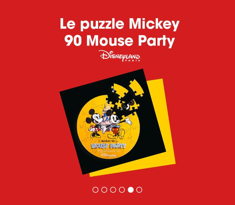 90 ans de mickey flunch porte-clé disneyland 90 ans de mickey