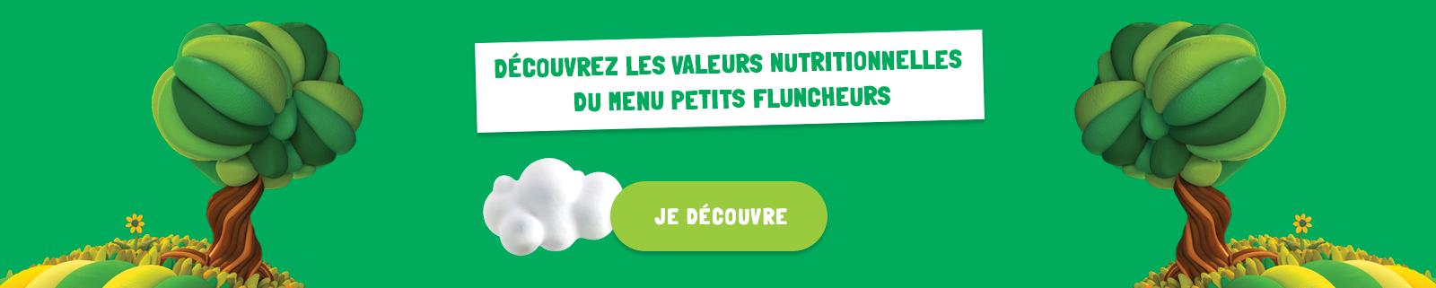 valeurs nutritionnelles menu enfants