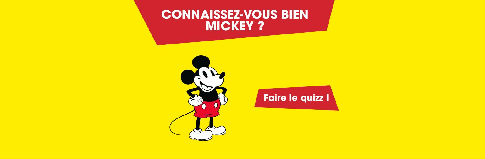 quizz 90 ans de Mickey
