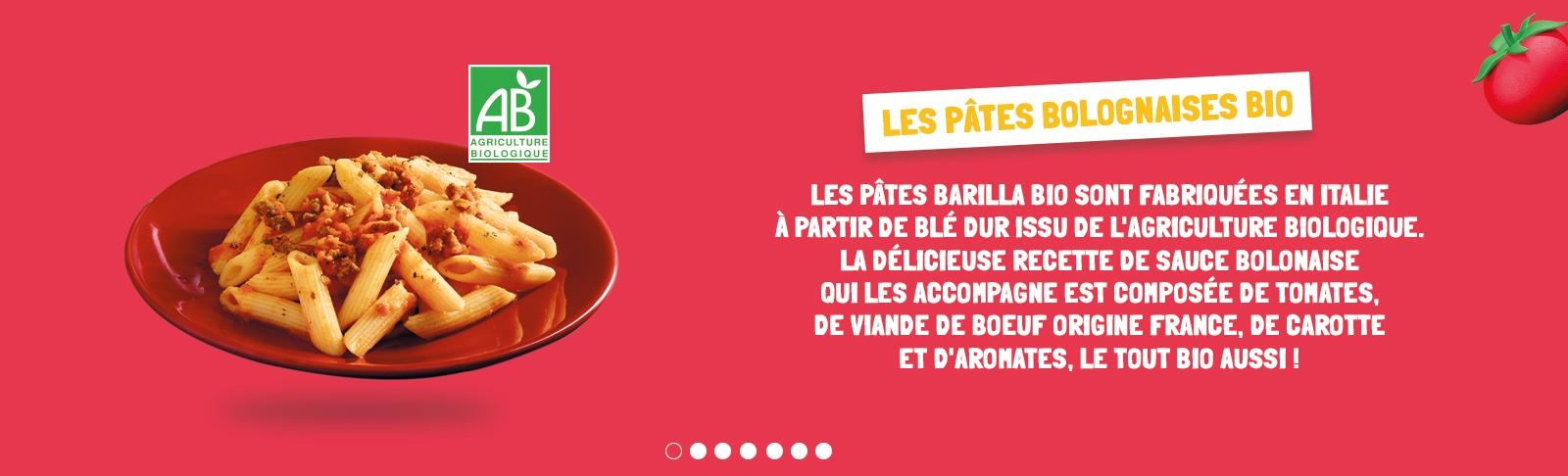 pâtes bolognaises bio menu petits fluncheurs flunch