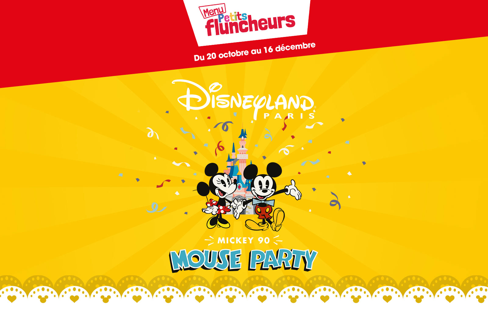 90 ans de mickey flunch