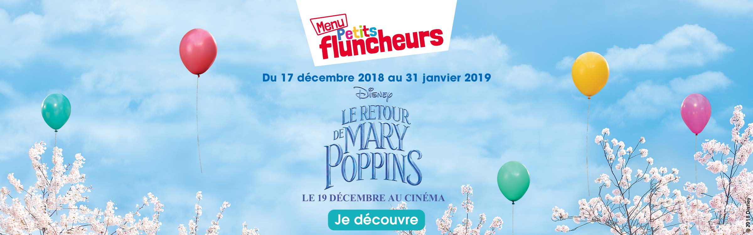 mary poppins cadeau flunch