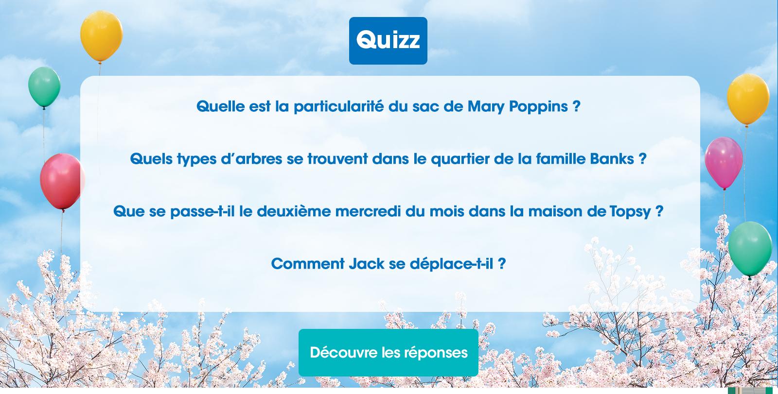 JEU MARY POPPINS