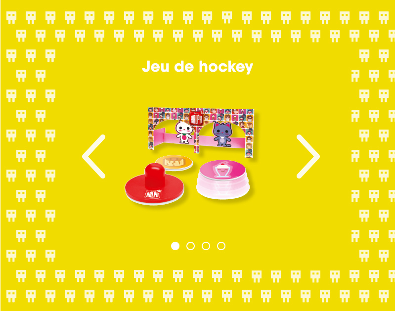 jeu de hockey menu enfants flunch le monde de ralph 2