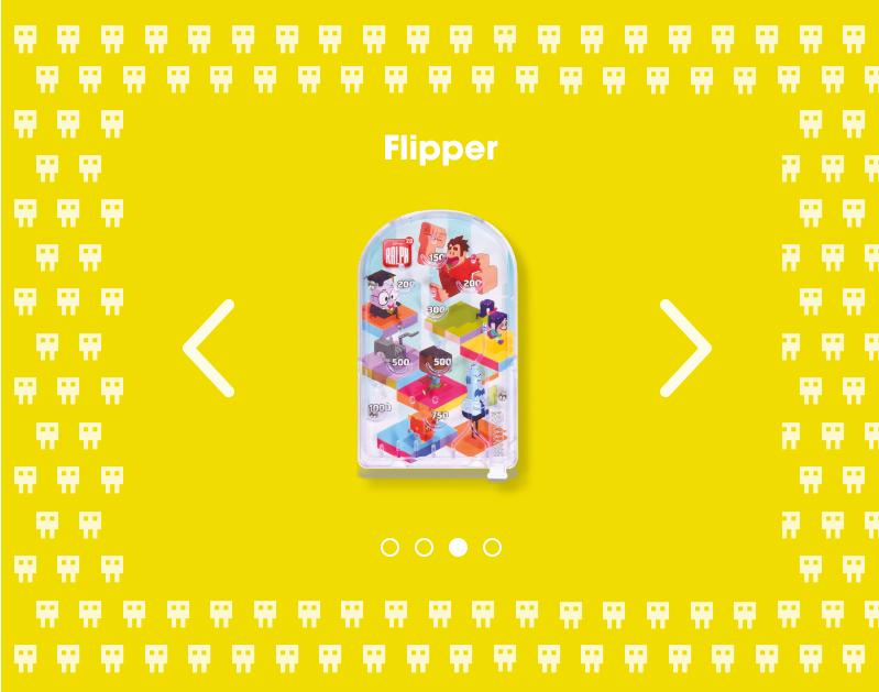 flipper menu enfants flunch le monde de ralph 2