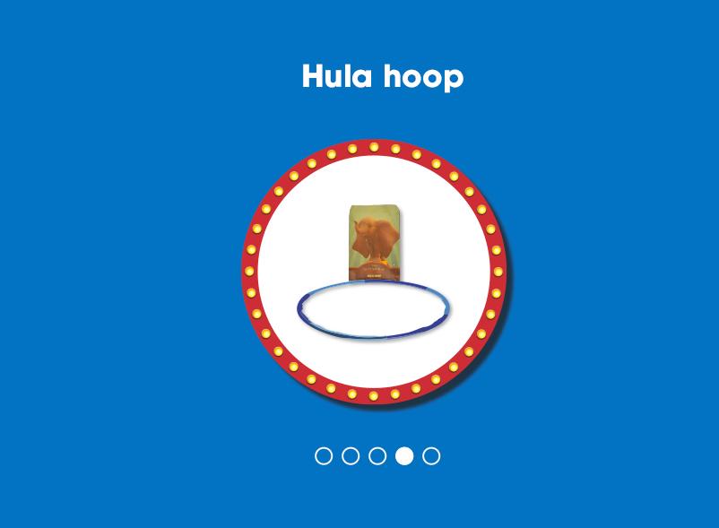 hula hoop dumbo flunch